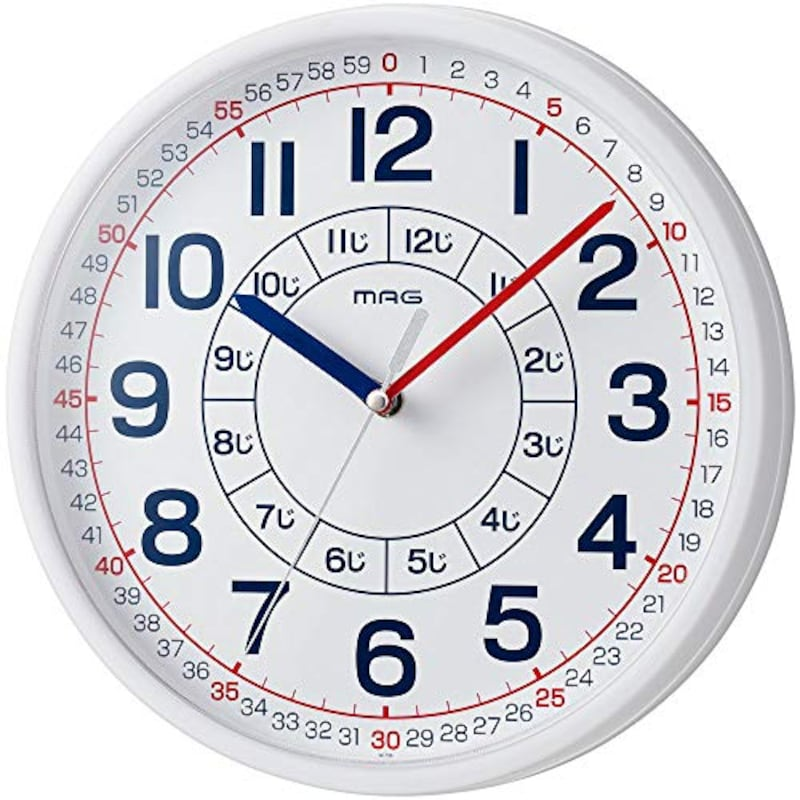 MAG(マグ),知育時計 よーめる,W-736WH-Z