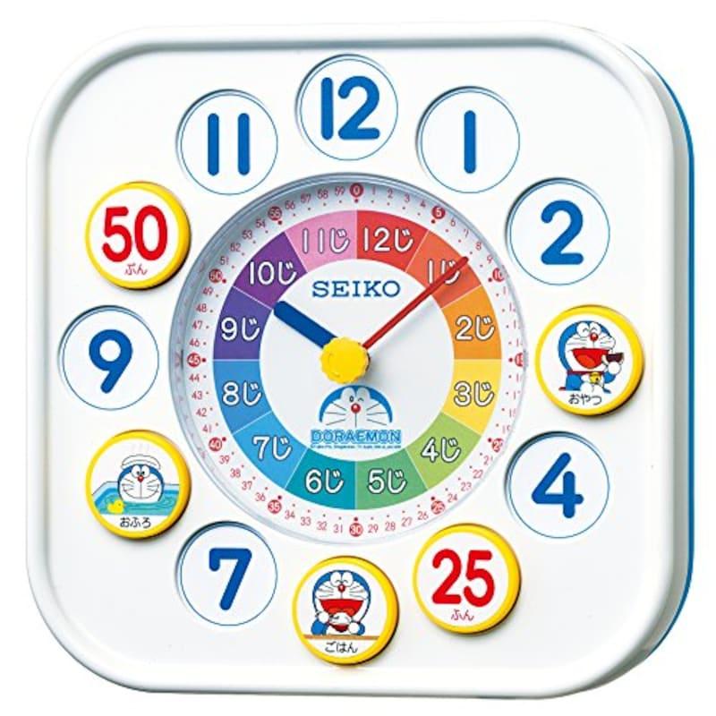 セイコークロック,ドラえもん 知育時計,CQ319W