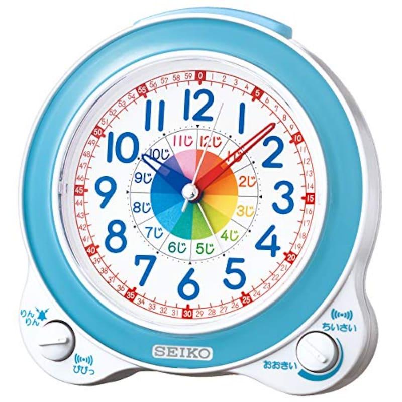 セイコークロック,知育目ざまし時計,BC410L