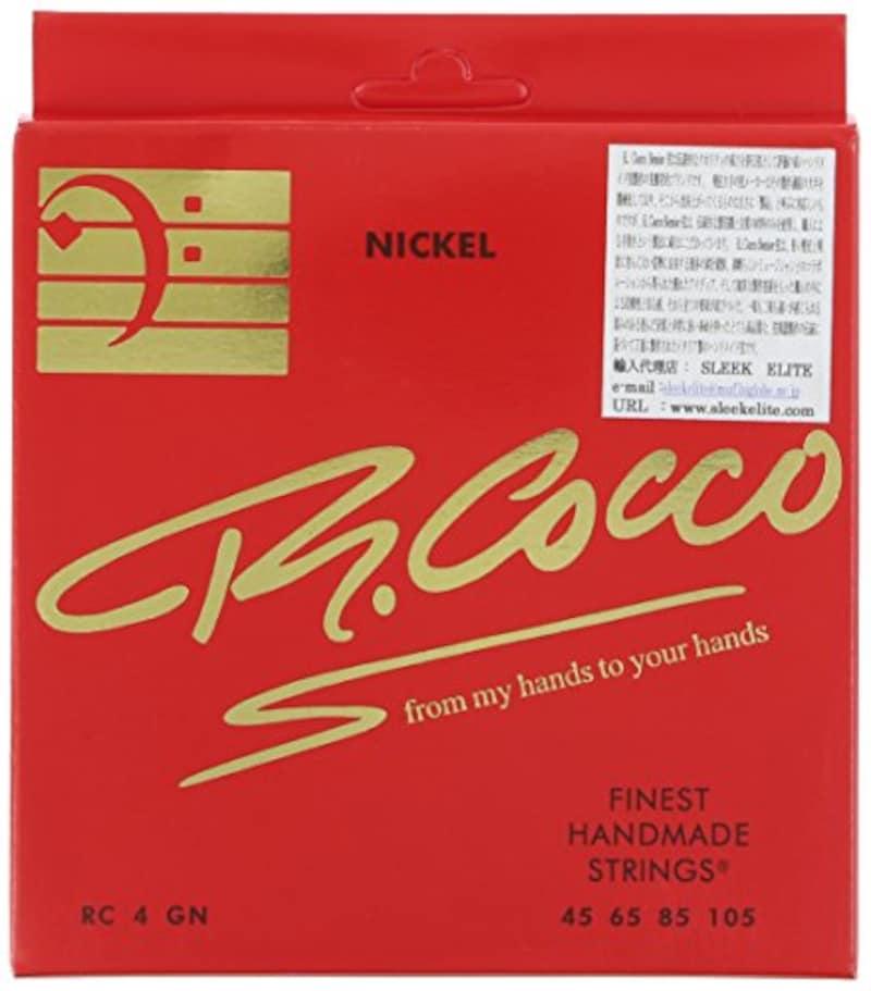 R.Cocco ,ベース弦 RC4G N (ニッケル .045-.105)