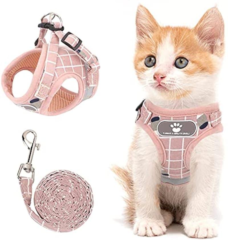 SUNGROO,かわいい猫用ハーネス
