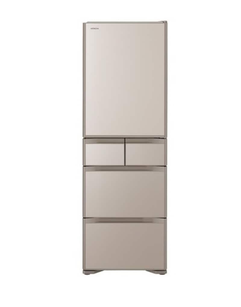 HITACHI(日立),5ドア冷蔵庫 クリスタルシャンパン,R-S40N-XN