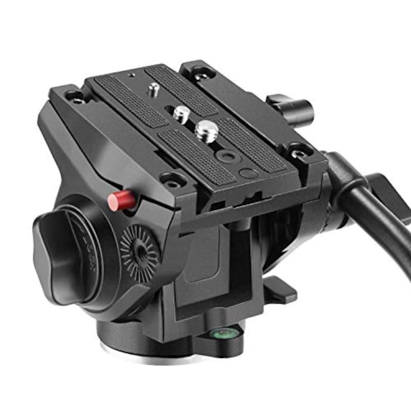 Neewer(ニューワー),ヘビーデューティビデオカメラ三脚用流体ドラッグ雲台,10090237