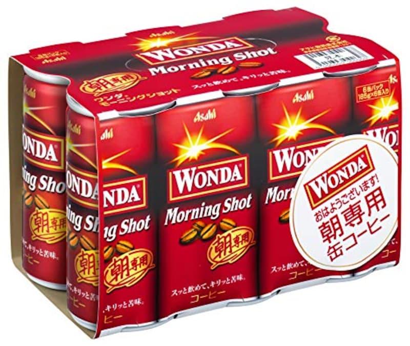 アサヒ飲料,ワンダ モーニングショット 185g×6本