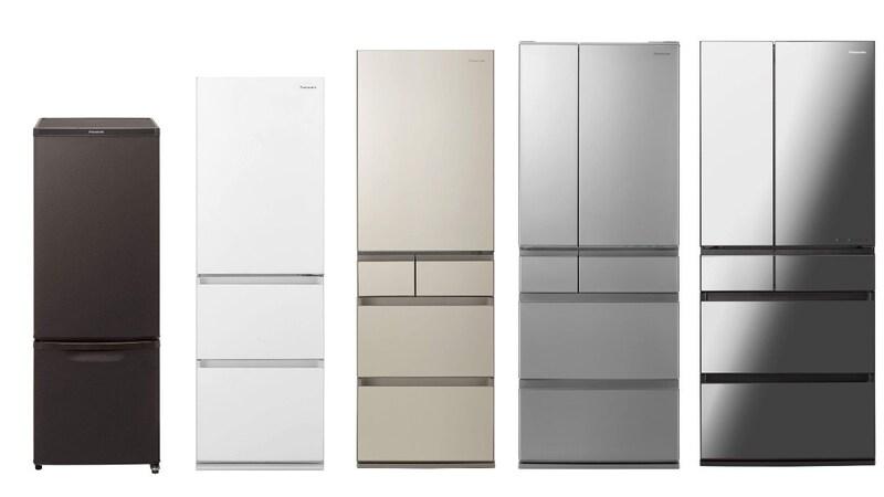 パナソニックの冷蔵庫おすすめ21選|業務用レベルの冷凍機能に注目!ストック食材が管理できる新製品も紹介