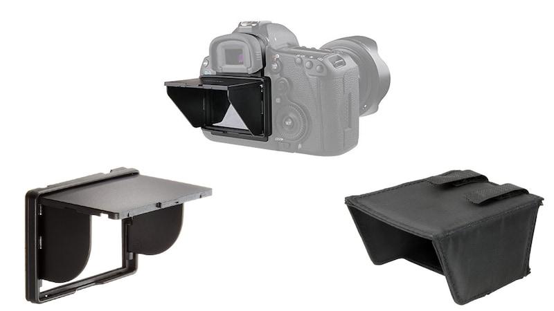カメラ用液晶フードのおすすめ人気ランキング8選|眩しいときでも見やすく工夫!