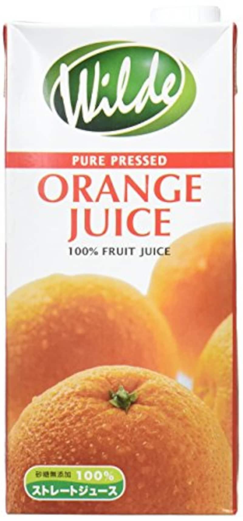 WILD社(ワイルド),ストレートジュース・オレンジ