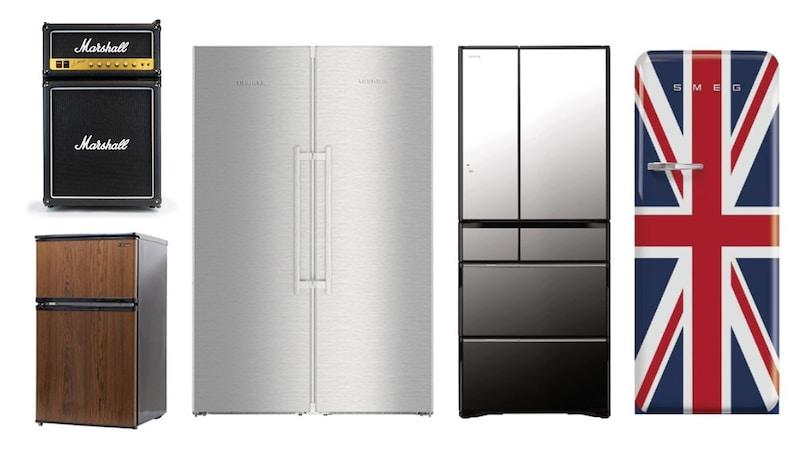 【2021】おしゃれな冷蔵庫のおすすめ人気ランキング26選|シンプル、レトロ、木目調などデザイン性の高い製品を紹介!