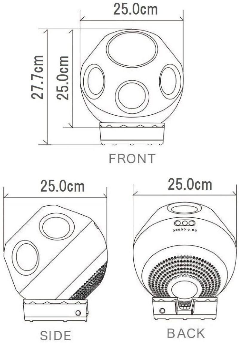 Panasonic(パナソニック),創風機 Q,F-BL25Z