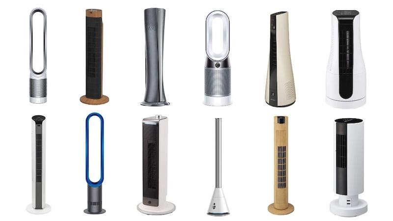 【2021年】タワーファンおすすめ人気ランキング22選 冷暖房併用が便利!扇風機との違いや山善、ダイソンも紹介