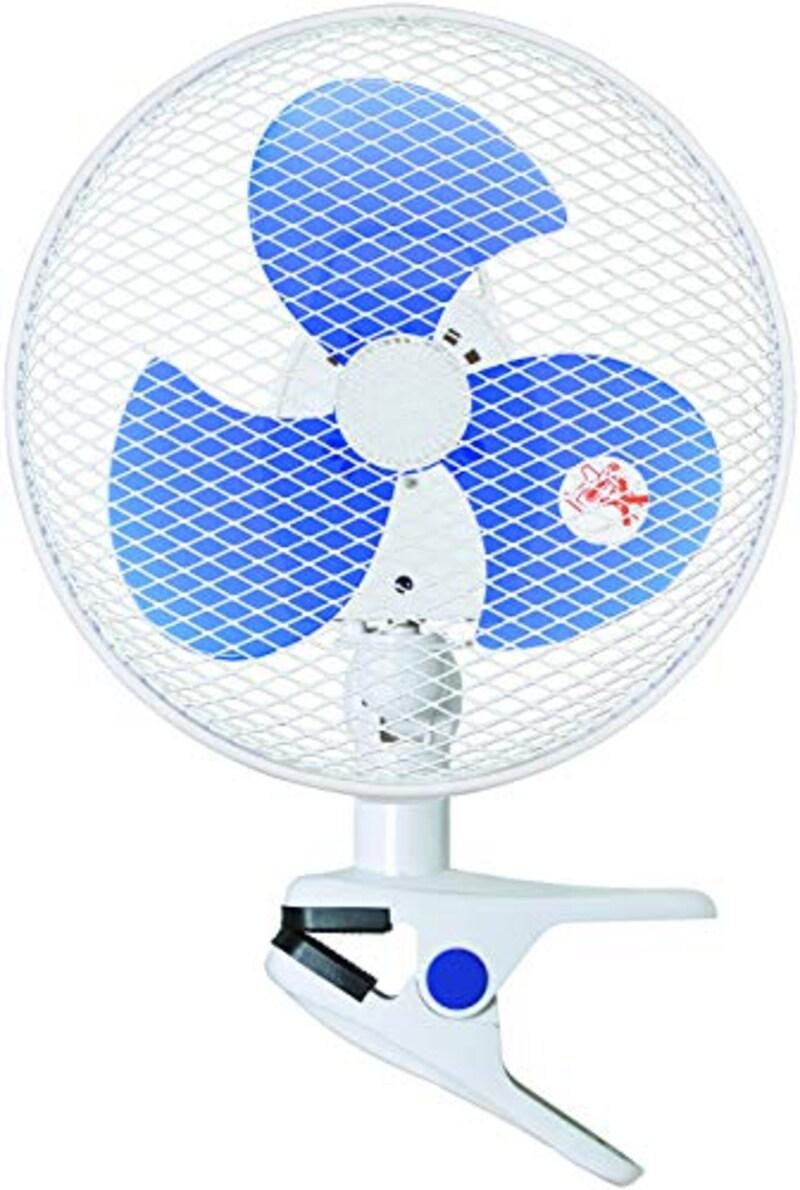YAMAZEN(山善),23cmクリップ扇風機,YCS-D237(W)