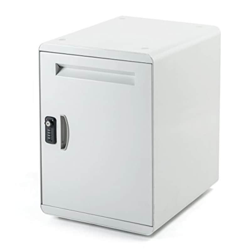サンワダイレクト ,宅配ボックス ポスト付 ,300-DLBOX009