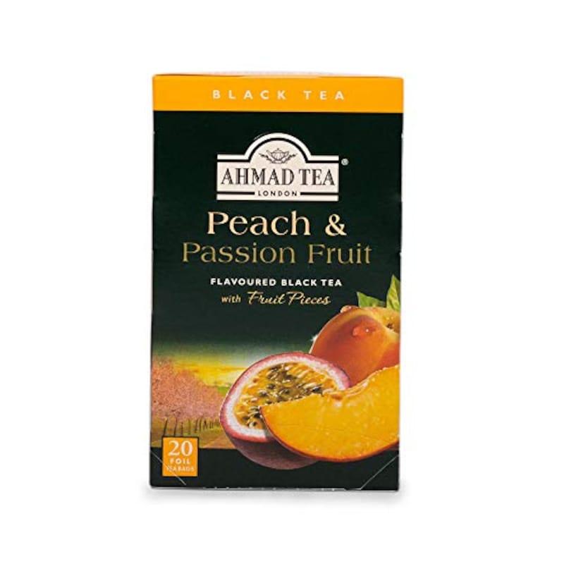 AHMAD TEA,ピーチ & パッションフルーツ ティーバッグ