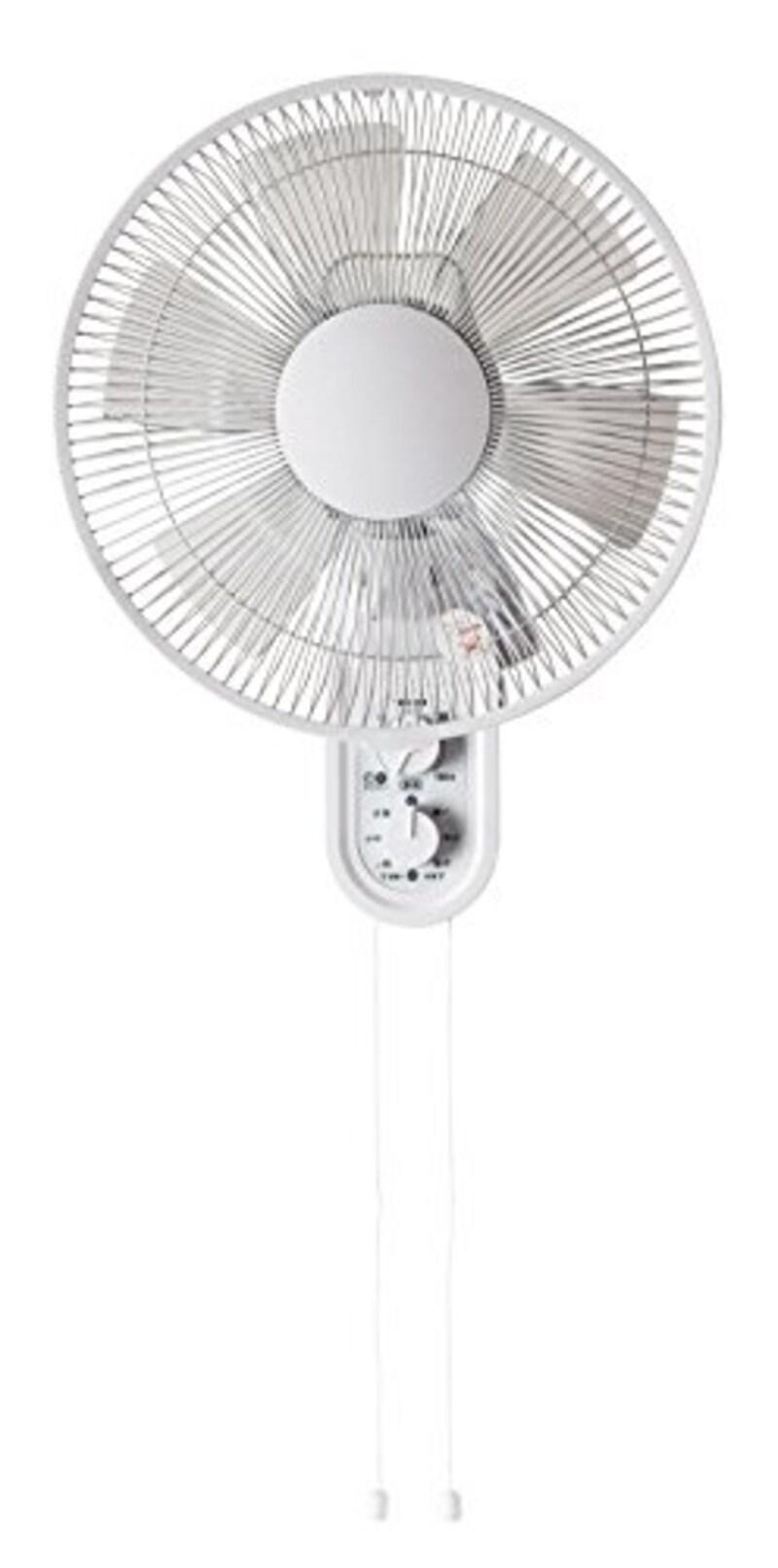 TEKNOS(テクノス),30cm壁掛けメカ扇風機,KI-W289