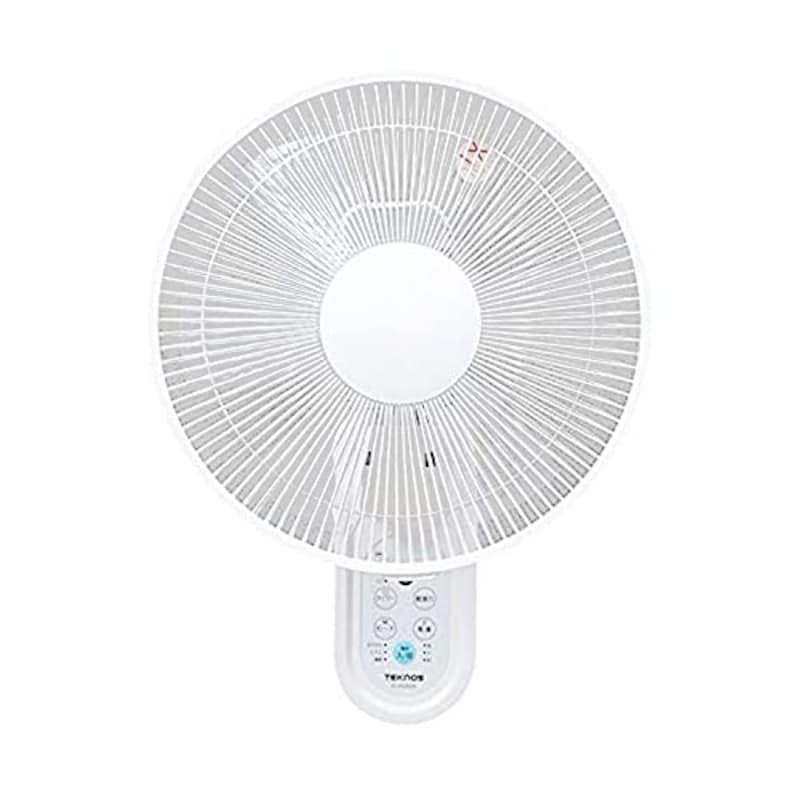 TEKNOS(テクノス),30cm壁掛けフルリモコン扇風機,IR-WF30R