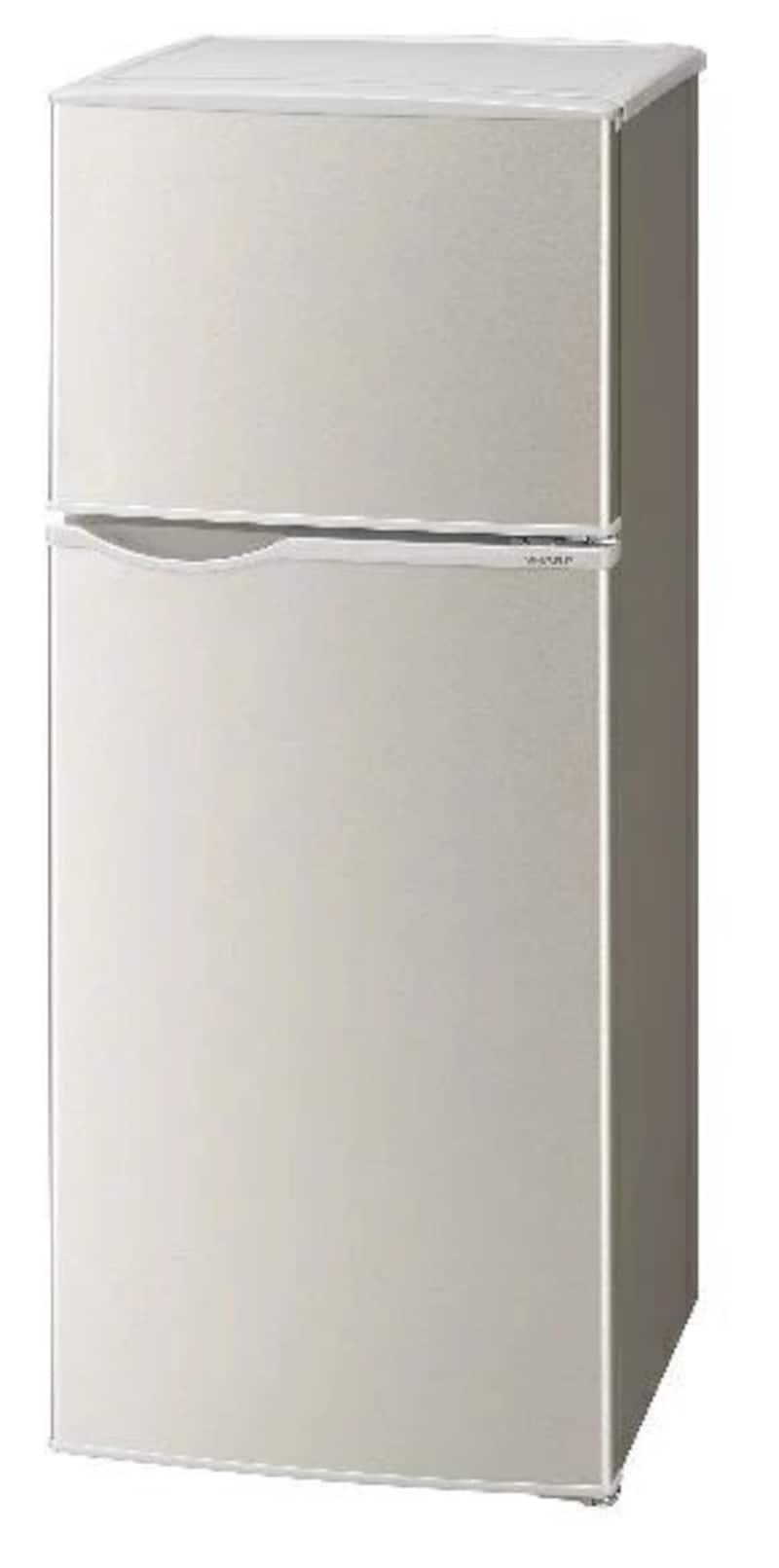 SHARP(シャープ),2ドア冷蔵庫,SJ-H13E-S