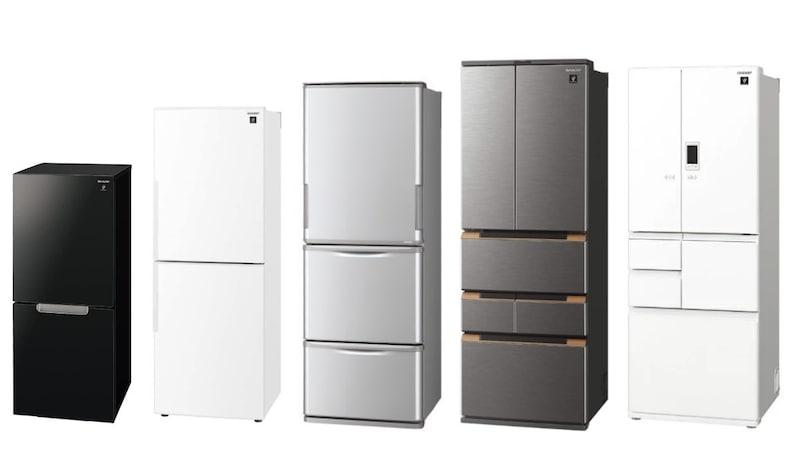 シャープの冷蔵庫おすすめ20選 両開きのどっちもドアが人気!価格や口コミの評判を比較