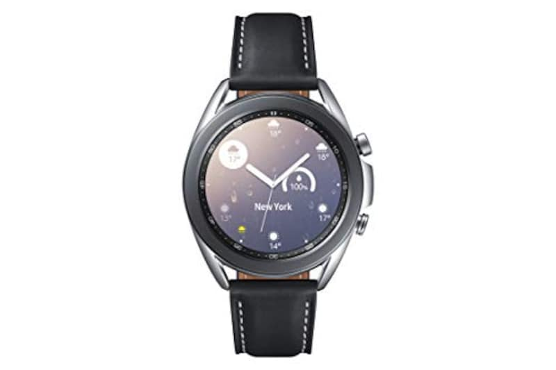 Galaxy (ギャラクシー),Watch3 41mm Stainless/シルバー,SM-R850NZSAXJP