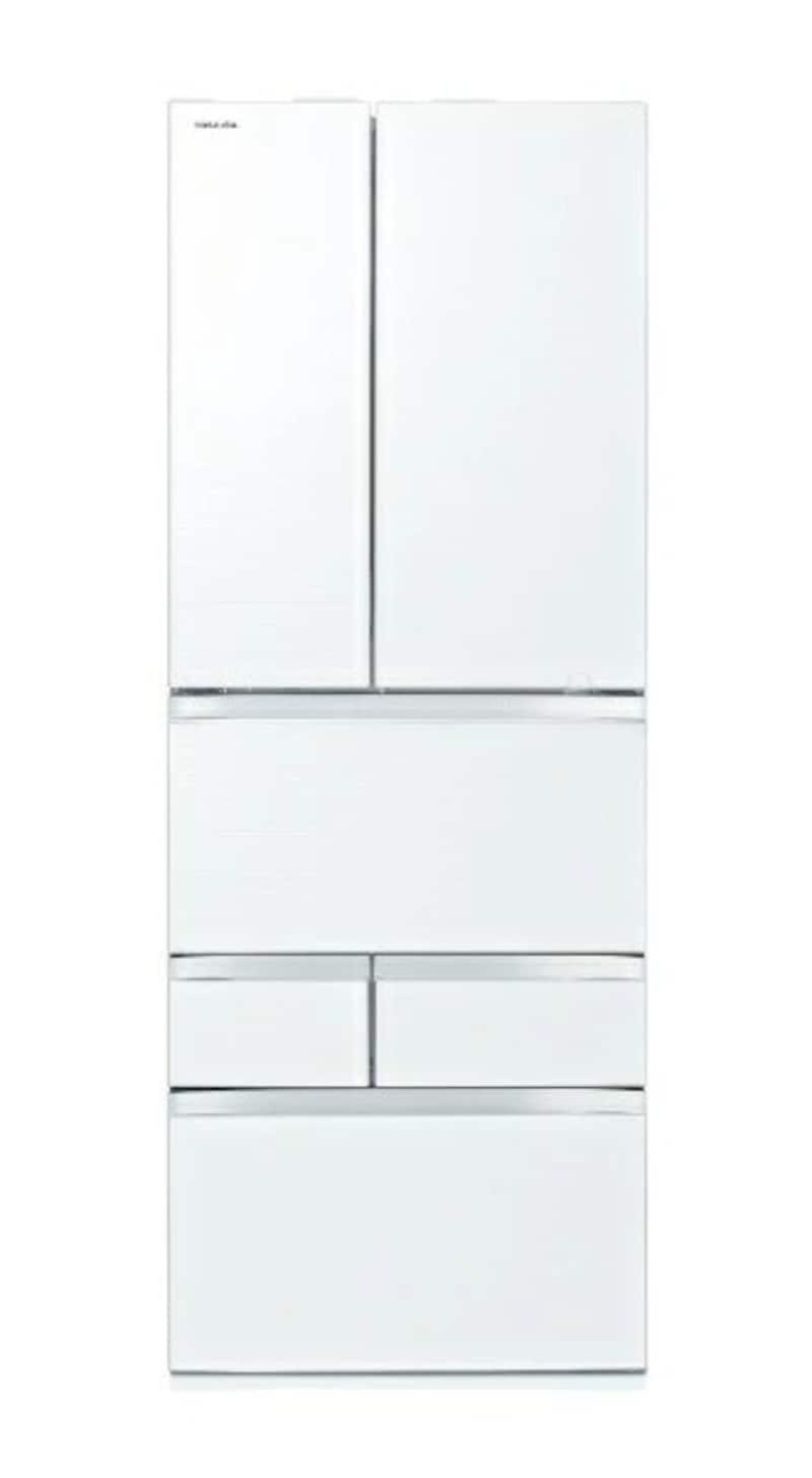 TOSHIBA(東芝),6ドア冷蔵庫 VEGETA(ベジータ),GR-T600FZ(UW)