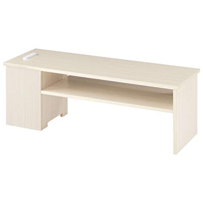 ぼん家具,木製テレビ台 ロータイプ ,tvb018116-wt