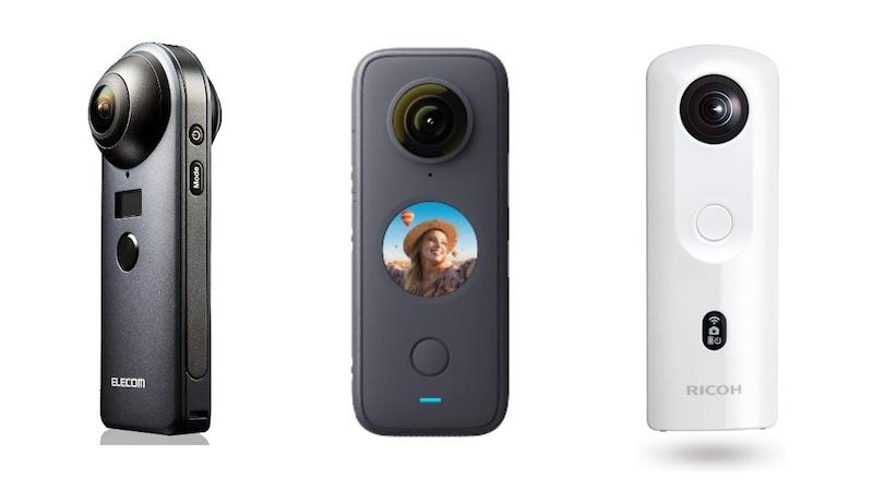 【2021】360度カメラのおすすめ人気ランキング10選 動画・写真を自由に楽しめる!選び方やスペックを比較