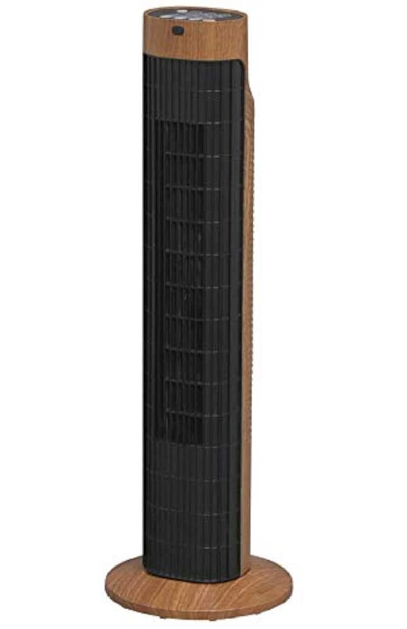アイリスオーヤマ,木目調メカ式タワーファン,TWF-C73M