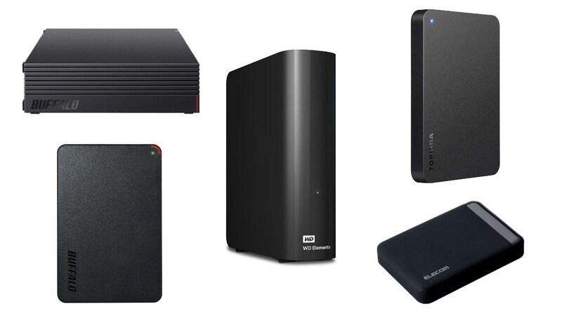 【2021】外付けHDDおすすめ17選|テレビ録画やバックアップに!安い大容量モデルを紹介