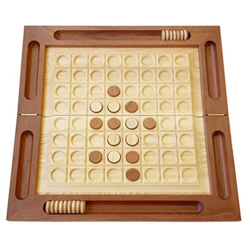 きざむ,名入れ 木製 リバーシ ボードゲーム ,reversi-001