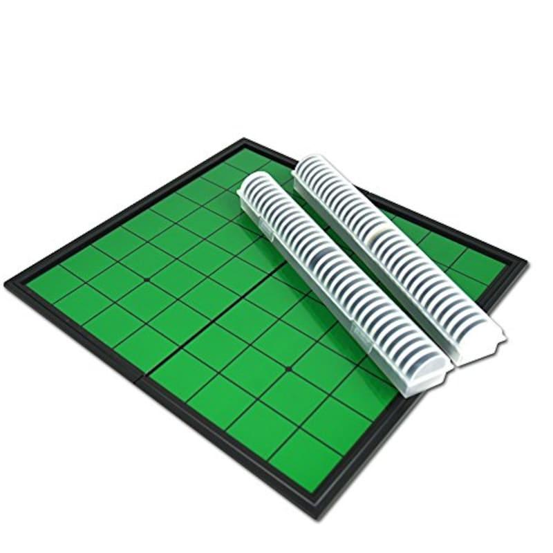 LUCINA JEWEL,ボードゲームの王様 マグネット 折り畳み式リバーシ (ノーマル),Lu-CA01-0123-4