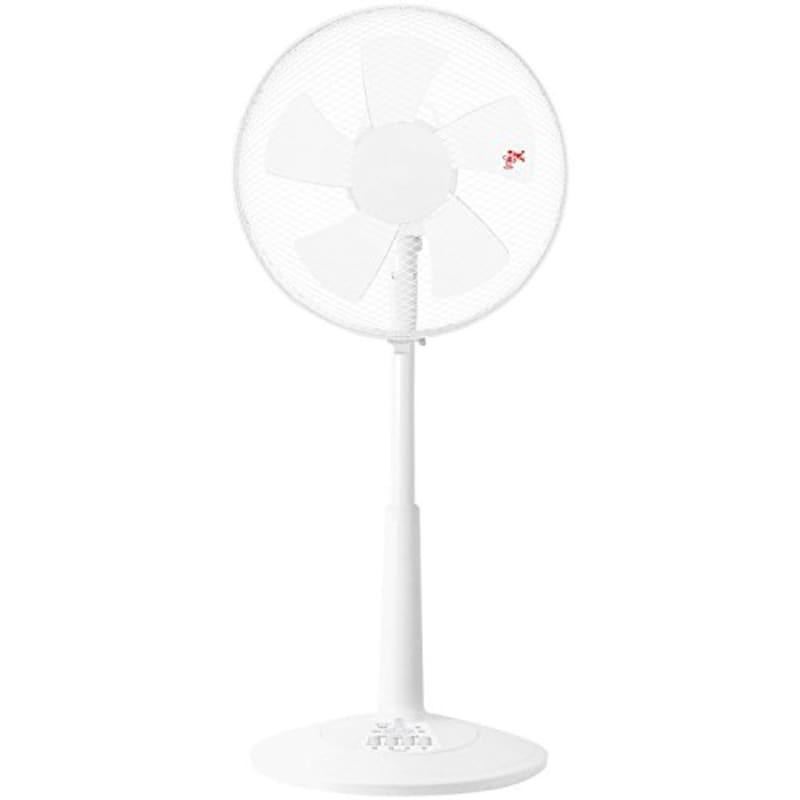 山善(YAMAZEN),30cmリビング扇風機,YLT-C30(B)