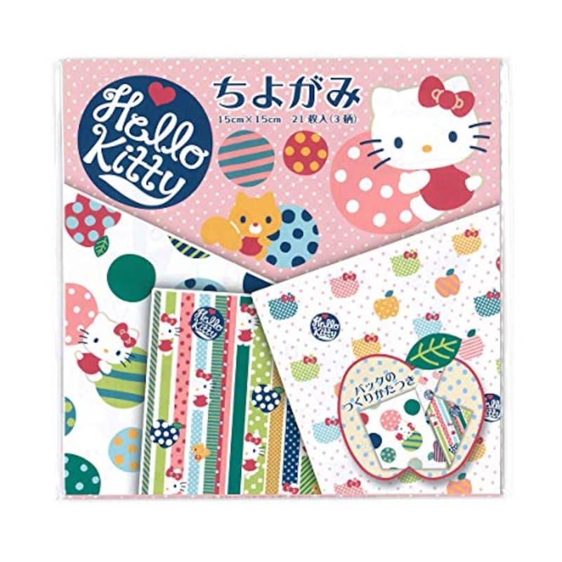 トーヨー,千代紙キティ,Hello Kitty
