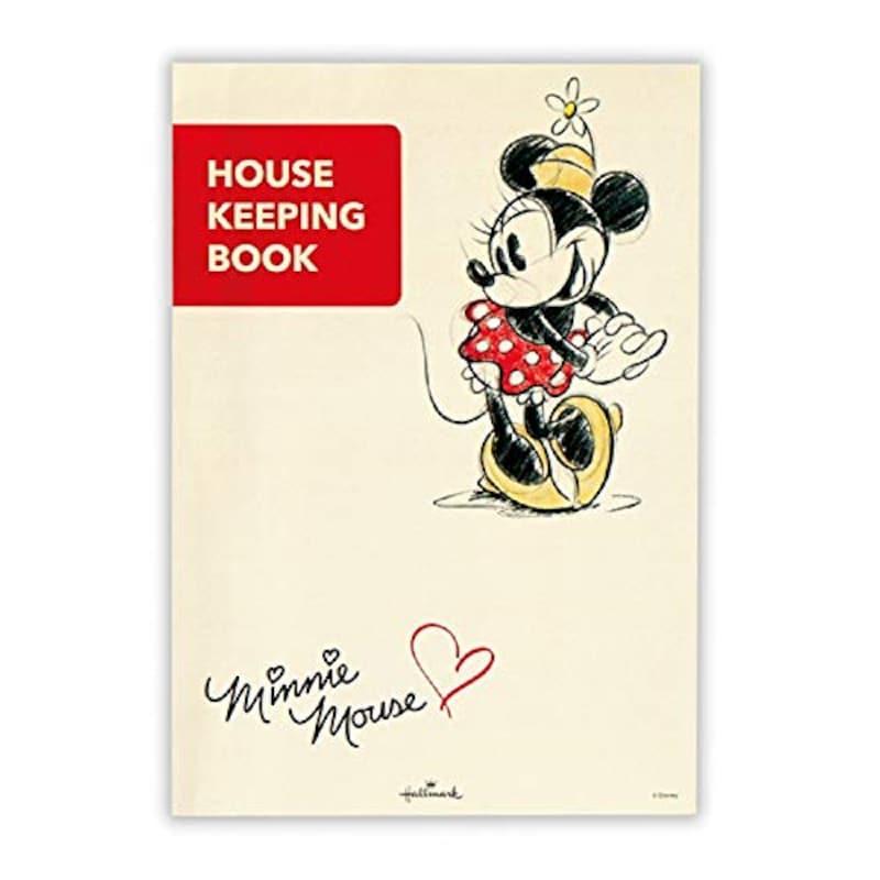 Hallmark(日本ホールマーク),ディズニー おすましミニー 簡単スッキリ家計簿/日付ありタイプ,689339