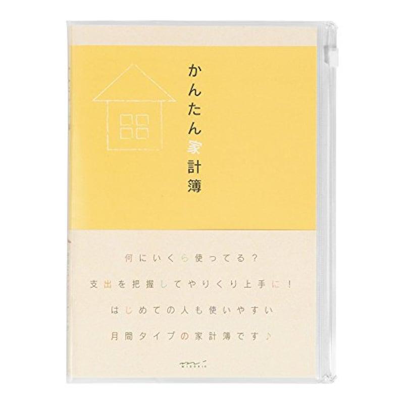 MIDORI(ミドリ),かんたん家計簿 月間,12323006