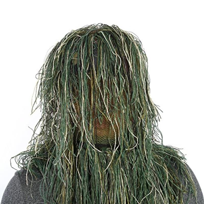 amajp(アマジプ),ギリースーツ帽子