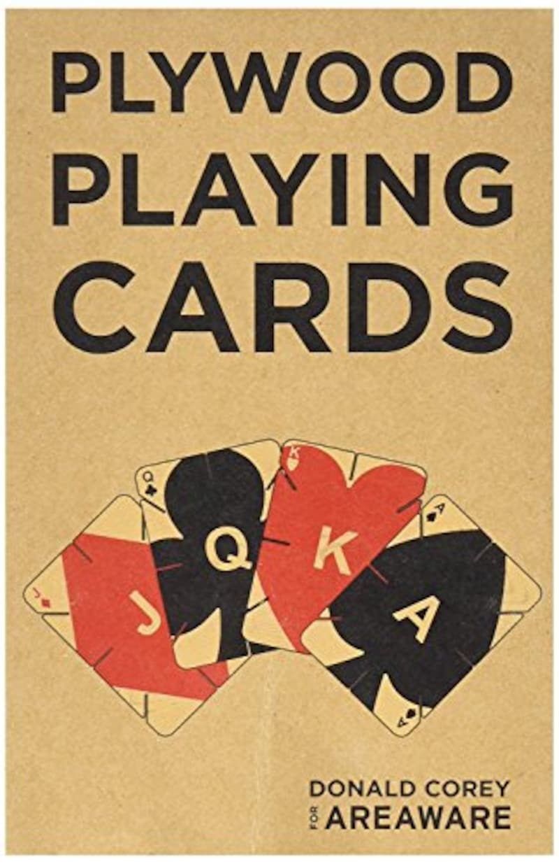 Areaware(エリアウェア),Plywood Playing Cards