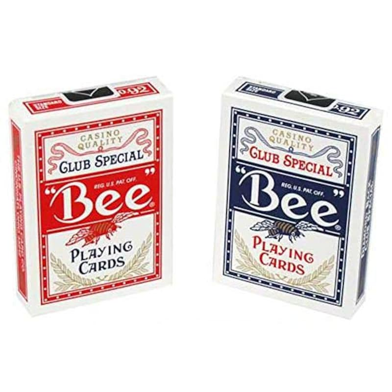 BEE(ビー),92 ダイヤモンドバック トランプ 赤/青