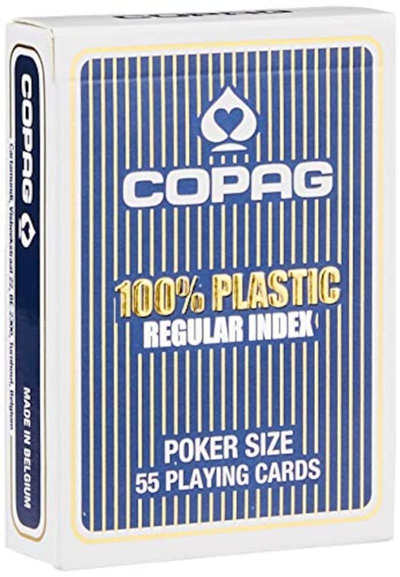 GP(ジーピー),トランプ コパッグ 青 ポーカーサイズ