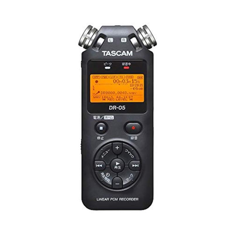 TASCAM(タスカム),リニアPCMレコーダー,DR-05-VER3