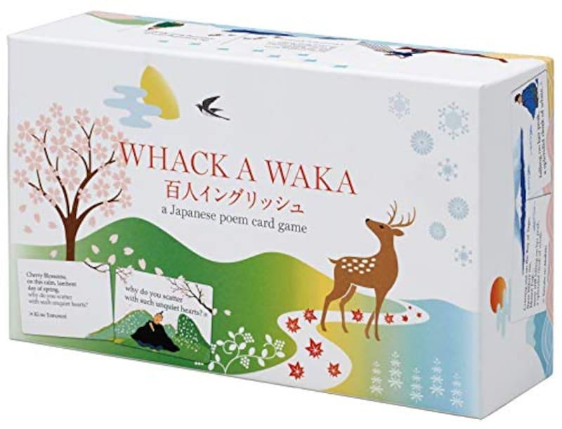 カワダ,WHACK A WAKA 百人イングリッシュ,ー