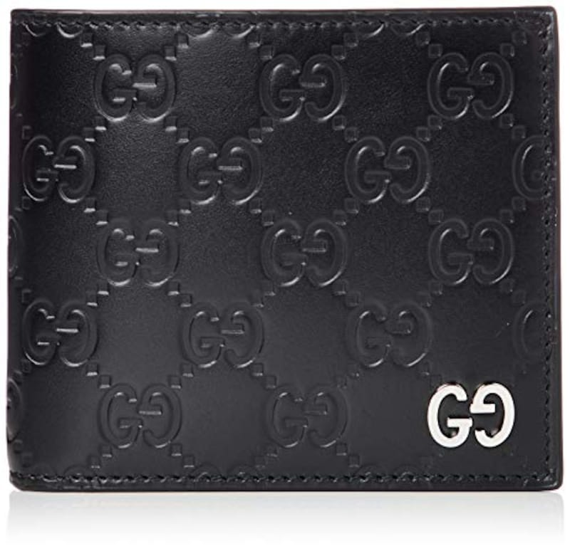 GUCCI(グッチ), 二つ折り財布 レザー,473922CWC1N
