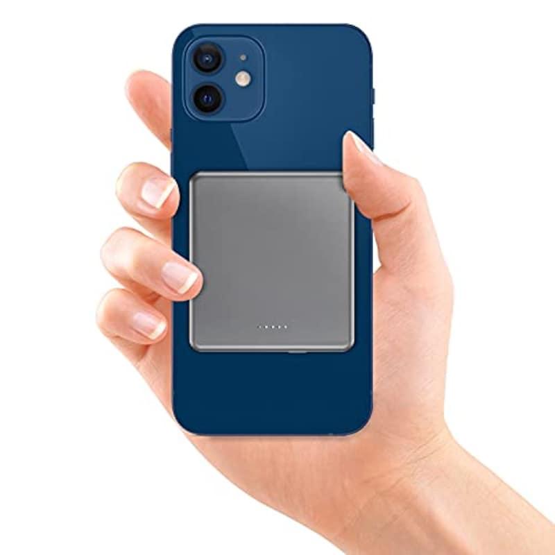 ZHINENGMAO,MagSafe マグネット式 モバイルバッテリー