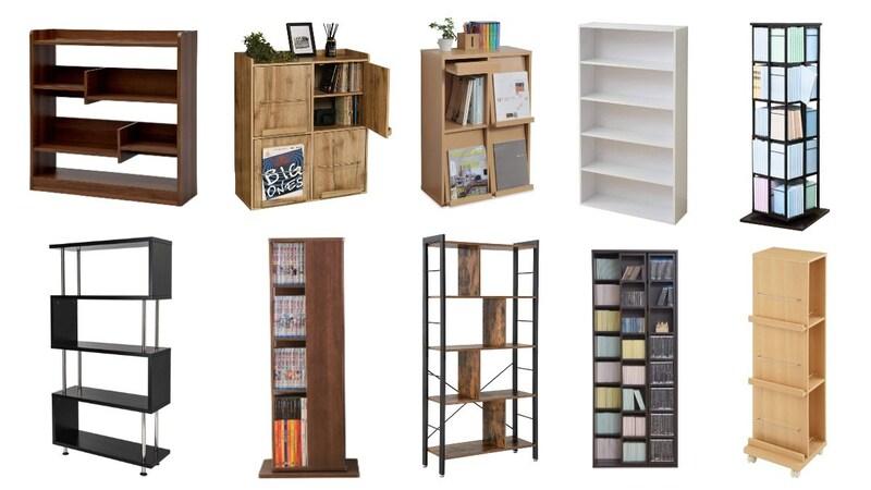 本棚のおすすめ人気ランキング40選 おしゃれな扉付きや大容量のスライド式も