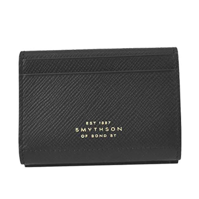 Smythson(スマイソン),財布 3つ折小銭付き メンズ,1025398