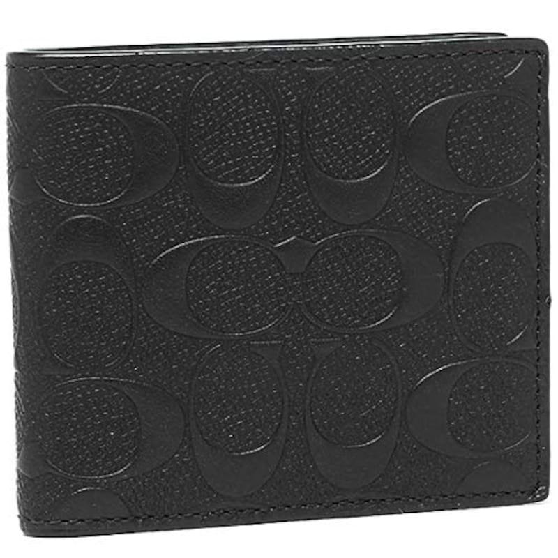 COACH(コーチ),二つ折り財布,F75363
