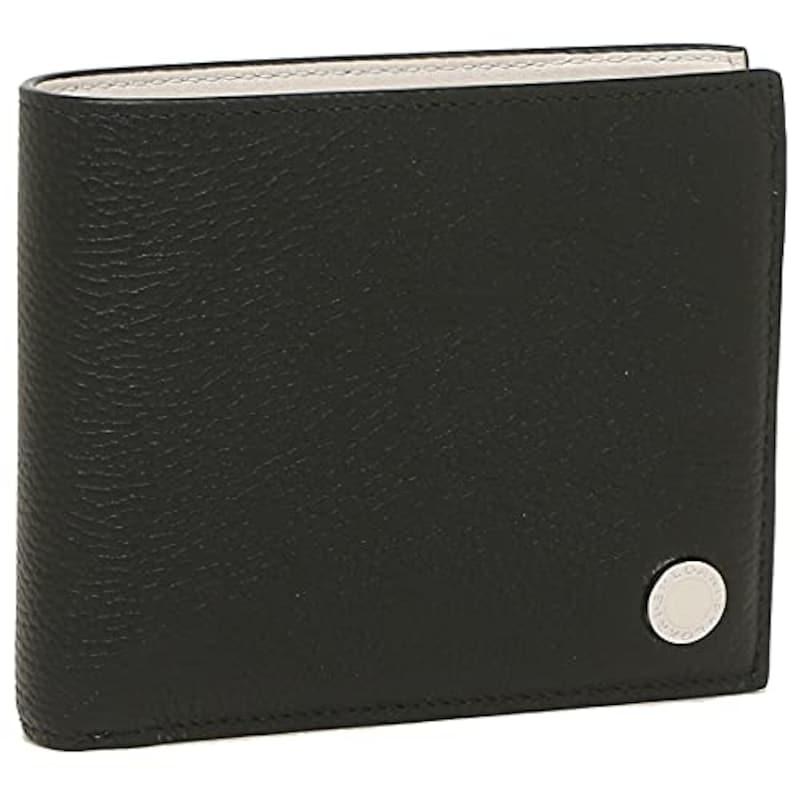 BVLGARI(ブルガリ),二つ折り財布,290075 BLKWH