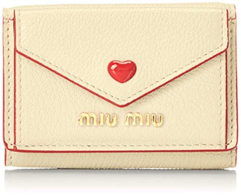 MIUMIU(ミュウミュウ),三つ折り財布,5MH021 2BC3