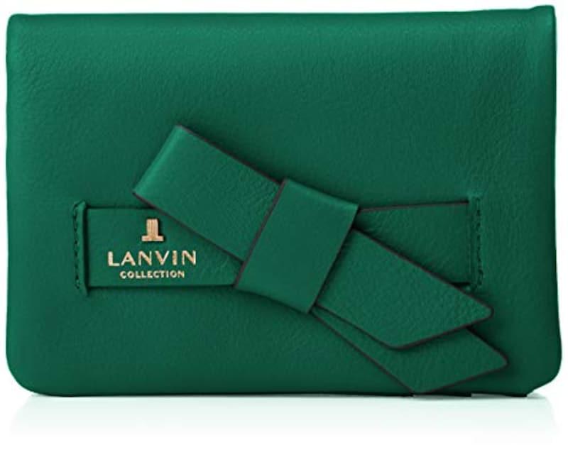 LANVIN COLLECTION(ランバンコレクション),二つ折り財布 ラペリパース, 65-6601
