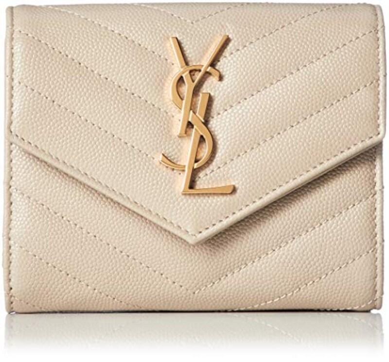 SAINT LAURENT(サンローラン),三つ折り財布 モノグラム,403943-BOW01