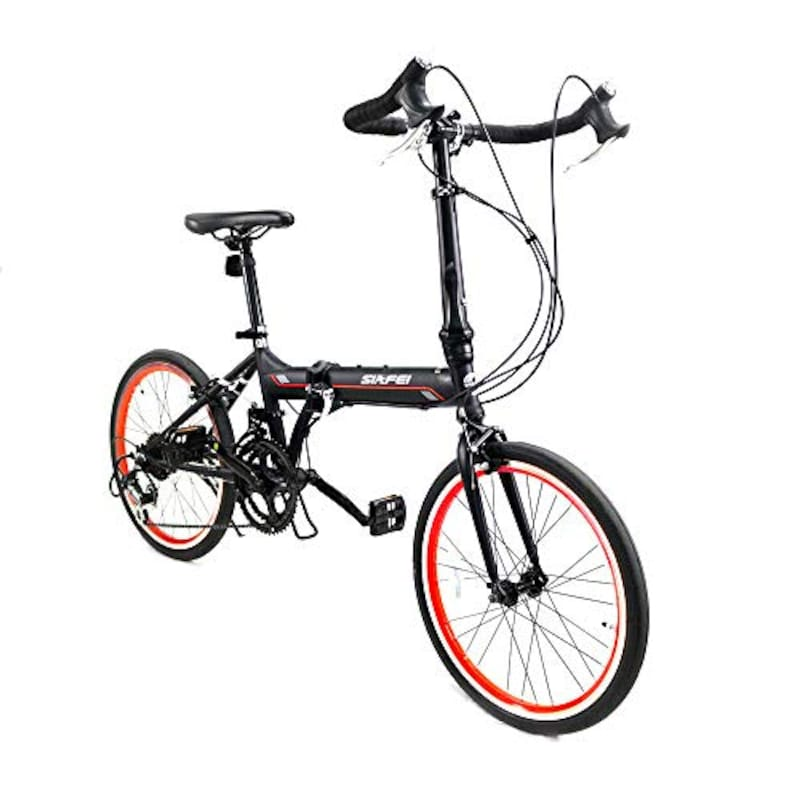 LUCK store,折りたたみ式 ドロップハンドル自転車