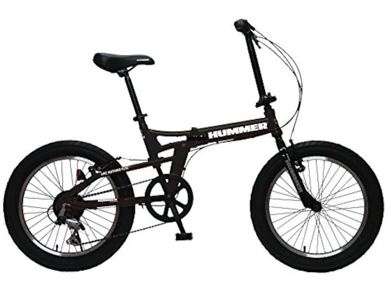 ハマー(HUMMER),極太3.0タイヤ   折りたたみ式自転車,FDB206FAT-BIKE